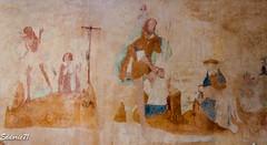 PEINTURES MURALES DE LA NEF  XVI  -  XVII e. (cirodde71) Tags: mazille églises saintblaise