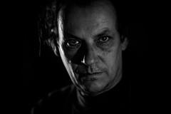 Lucid noir (AlphaAndi) Tags: monochrome mono menschen menschenbilder leute people personen portrait urban trier tiefenschärfe wow dof deepoffield fullframe face city closeup nahaufnahme gesicht sony streetshots schwarzweis blackandwhite blackwhite bw bokeh bokehlicious