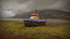 Boaty Mcboatface.. (Harleynik Rides Again.) Tags: tug boat lochduich weather highlands scotland harleynikridesagain nikondf