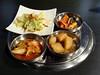 Kimchi Plus (knightbefore_99) Tags: korea korean asian food vancouver coquitlam tasty best awesome arisu side dish kimchi great cabbage hot spicy potato art