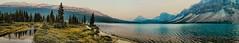 Lake panorama (Miradortigre) Tags: panorama wide alberta canada lake lago wilderness mountain nationalpark