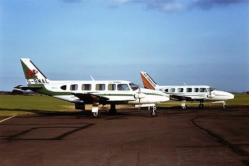 Navajos G-BAVM & G-BWAL CVt 22-07-79