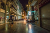 Street life.... (Dafydd Penguin) Tags: street raw shots after dark night high iso scene culture spanish spain southern cartagena colour hand held people girls eats cafe ancient urban city town metropolis nikon d610 nikkor 20mm af f28d