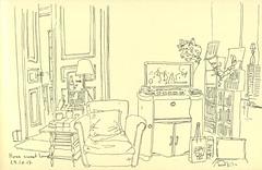 À la maison (Strasbourg) (lolo wagner) Tags: croquis sketch usk urbansketchers strasbourg