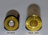 Comparing a .45 ACP with a .460 S&W (eLaReF) Tags: 460 sw smithwesson revolver cartridge case