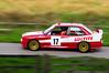 BMW @ Wales Rally GB (Jason Gambone J-Peg) Tags: bmw race rally mpower msport red speed nikon 3series saloon beemer blur tamaron d5000