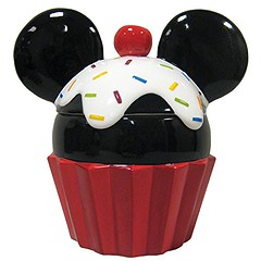 Mickey Cupcake Cookie Jar (mywowstuff) Tags: gifts gadgets cool family friends funny shopping men women kids home