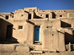 Blue door (kimbar/Thanks for 3 million views!) Tags: taospueblo taos pueblo door newmexico shadows architecture