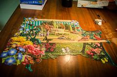 Garden Bench (kightp) Tags: nikon d7000 domesticity jigsawpuzzles