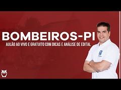 Concurso Bombeiros-PI - Análise de Edital   Ao vivo (portalminas) Tags: concurso bombeirospi análise de edital   ao vivo