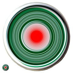 bullseye (HansHolt) Tags: bullseye heineken beer bier cap dop red rood green groen round rond circle cirkel spiral vortex spinning motion speed rotation art draaikolk rotatie snelheid kunst beweging draai slider spinner curve suction vanishing flowing stream twister square abstract olympusmju9010 olympusstylus9010