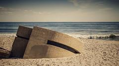 lost to the sand - Sandy Hook, NJ (Steve Stanger) Tags: rustycrusty rust ruin beach sand sandyhook beachscape crusty 35mmf18 35mm nikon35mmf18 nikond7000 nikon d7000 forthancock nj newjersey shore landscape explorethefamiliar