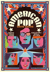 American Pop (peculiarmanicule) Tags: americanpop rockandroll psychedelic bookcover vintage mod groovy graphicdesign 1969