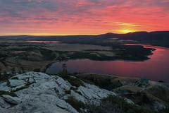 The Bear's Hump (Andrew G Robertson) Tags: waterton lakes national park bears hump sunrise sunset canada rockies alberta lake