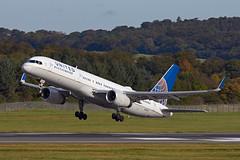 ALAN_POTTS_20171006_MG_6770 (Alan Potts) Tags: edinburgh midlothian uk gbr edinburghairport edi egph turnhouse aircraft scotland aviation alanpotts n14118 boeing757224 b752 unitedairlines jet civil