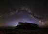 The wreckage of Swiks (Magnus_R) Tags: milkyway nattlandskap nightscape panorama sverige sweden vinter vintergatan winter öland stars stjärnor swiks