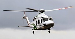 DU-141 DUBAI AIR WING NEWCASTLE (toowoomba surfer) Tags: helicopter aviation ncl egnt