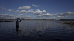 (je_suis_un_chat) Tags: 朱鞠内湖 北海道 フライフィッシング flyfishing syumarinai wide conversion lens gr