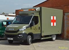 Ejército del Aire (Autobuses y Emergencias) Tags: ejército aire iveco daily ambulancia cuatro vientos