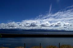 Lago Nahuel Huapi con Nubes. (luisarmandooyarzun) Tags: nubes clouds azul sur turismo landscape landscapephotography p lake lagos agua panoramica panorama argentina bariloche patagoniaargentina paisaje