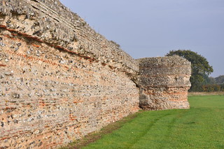 The Roman fort at Burgh Castle