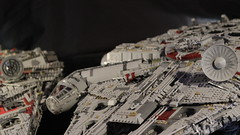 10179 vs 75192 15 (YgrekLego) Tags: ucs millenium falcon lego 10179 75192 comparison falke spaceship star wars epic lights gino lohse ygreklego