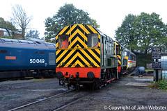 D3022 (08015) at Kidderminster (28/10/2017) (blackwatch55013) Tags: d3022 08015 class08 class09 d4100 dickhardy 09012 50049 12099 class11 kidderminster svr severnvalleyrailway