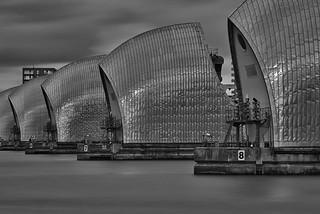 Silver Installation, Thames Barrier, London