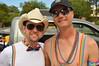 Sunglasses and suspenders (radargeek) Tags: okcpride gayprideparade oklahomacity okc oklahoma 2017 rainbow cowboyhat sunglasses smile