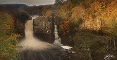 High Force (►►M J Turner Photography ◄◄) Tags: highforce waterfall cascade spate river rivertees teesdale countydurham england unitedkingdom autumn northpennines aonb areaofoutstandingnaturalbeauty northpenninesaonb