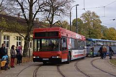 Die Nürnberger erprobten ab 1997 mit dem Neoplan-Bus 998 den diesel-elektrischen Antrieb (Frederik Buchleitner) Tags: 10jahremvgmuseum 998 bus dieselelektrobus elektrobus hauptwerkstätte mvgmuseum munich münchen n4114de neoplan nürnberg omnibus vag