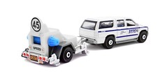 Matchbox - Speed Trapper & Chevy Suburban (Leap Kye) Tags: matchbox mattel toy car diecast vehicle automobile tow speed armedclown309 40 kmh fast roadside kerb authority nypd pull 2000 chevy suburban check police cops drag caught trap catch 2017 department new york professionalism 45