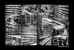 Spontan-Production: Beauty Of Colors (_LWR_) Tags: contaxt2 sonnar erfurt thuringia thüringen analog analogue contax kodak tmax 400 adoxfx39ii kodaktmax400 sw monochrome shopping fun jokes