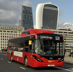 LJ66CGG Go Ahead London SEe24 (martin 65) Tags: byd e200 enviro e400 enviro400 mmc road transport public go ahead london greater group vehicle bus buses hybrid