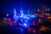 Romantica in Bautzen (matthias_oberlausitz) Tags: romantica bautzen 2017 oberlausitz spre spreetal wasserkunst illuminiert beleuchtet laser lasershow