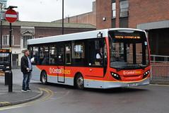CB 113 @ Walsall St Pauls bus station (ianjpoole) Tags: central buses alexander dennis enviro 200 bu12ljv 113 working route 74 walsall st pauls bus station redruth road gillity village