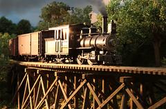 GLINT - MODEL RAILROAD (dayvmac) Tags: modeltrains modelrailroads steam steamlocomotives
