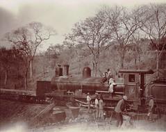Africa Railways - Cape Government Railways (CGR) 5th Class 4-6-0 steam locomotive Nr. 123 (Dübs Locomotive Works, Glasgow 2716 / 1891) (HISTORICAL RAILWAY IMAGES) Tags: steam locomotive africa cgr dübs 1891 460