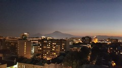 Yerevan by night (Alexanyan) Tags: yerevan armenia moun ararat night cityscape capital city armenian caucasia armenie mountain mount