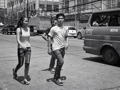 Teens (Beegee49) Tags: jeepney boys girl teenage teenagers filipina bacolod city philippines