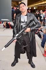 DSC_0893 (Randsom) Tags: newyorkcomiccon 2017 october7 nycc comic convention costume nyc javitscenter marvel superhero marveluniverse punisher netflix rifle toygun black violence leather military skull vigilante