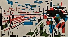 Untitled (1980) - Nadir Afonso (1920 - 2013) (pedrosimoes7) Tags: nadirafonso centrodeartemanueldebrito camb paláciodosanjos algés portugal art painting ✩ecoledesbeauxarts✩ artgalleryandmuseums