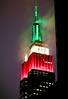 tricolore empire (ce_eff) Tags: newyork2017nyc pire state italia tricolore fuji xe1 night colour fog clouds foggy love nyc xc50230