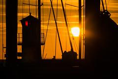 Sunset silhouettes (Infomastern) Tags: skanör skanörshamn cloud evening fyr himmel kväll lighthouse moln silhouette siluett sky sol solnedgång sun sunset