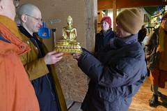 New Buddha Rupa Ariving From Thailand