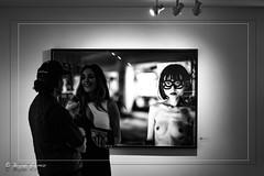 Nikki Sixx Wife @ Nikki SIxx exhibit Gallery (Leica LA store) (bryanasmar) Tags: beautiful just fotosolo nikki sixx wife exibit leica store la gallery bw summicron m9 502 ngc