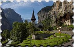Lauterbrunnen - Suisse (jamesreed68) Tags: alpes alps suisse schweiz nature village paysage lauterbrunnen berne oberland église canon eos 600d