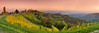 Kitzeck Panorama in autumn (Bernhard Sitzwohl) Tags: kitzeck sausal vinery styria austria outdoor nature landscape vantagepoint fall autumn autumnleafes church vibrant colourful