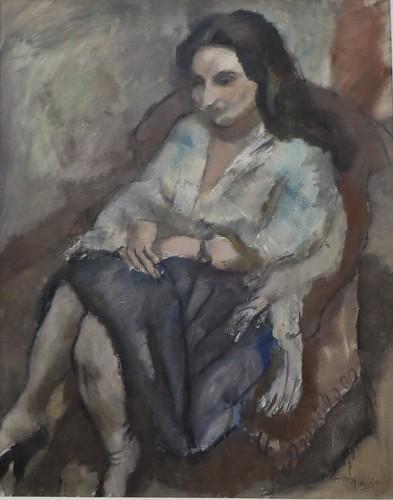 """""""Andrée"""", 1923, Pascin (Vidin, 1885-Paris, 1930), Musée de Grenoble, Grenoble, Rhône-Alpes-Auvergne, France."""