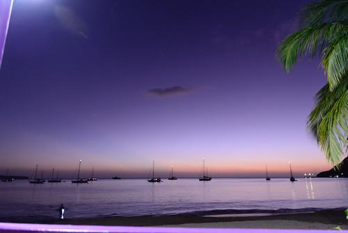 Beachbar, Portsmouth, Nordwestküste, Dominica
